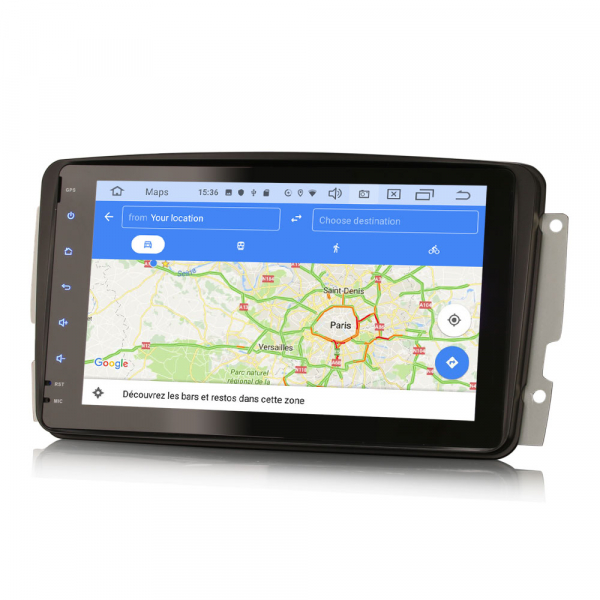 Navigatie auto, Pachet dedicat Mercedes Benz W203 Vito, Android 10.0, 8 inch 8