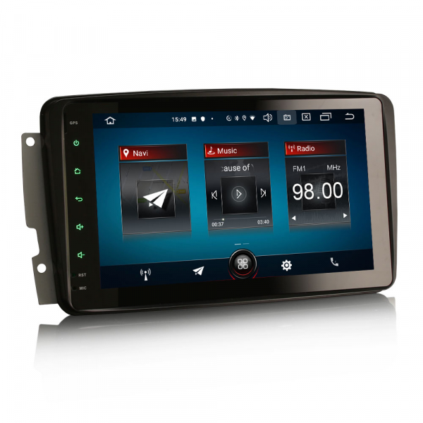Navigatie auto, Pachet dedicat Mercedes Benz W203 Vito, Android 10.0, 8 inch 9