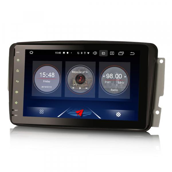 Navigatie auto, Pachet dedicat Mercedes Benz W203 Vito, Android 10.0, 8 inch 1