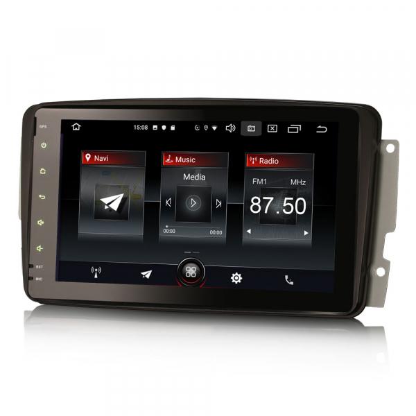 Navigatie auto, Pachet dedicat Mercedes Benz W203 Vito, Android 10.0, 8 inch 4
