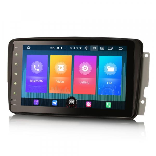 Navigatie auto, Pachet dedicat Mercedes Benz W203 Vito, Android 10.0, 8 inch 6