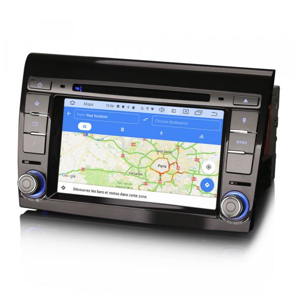 Navigatie auto, Pachet dedicat Fiat Bravo ,7 inch, Android 10 [7]
