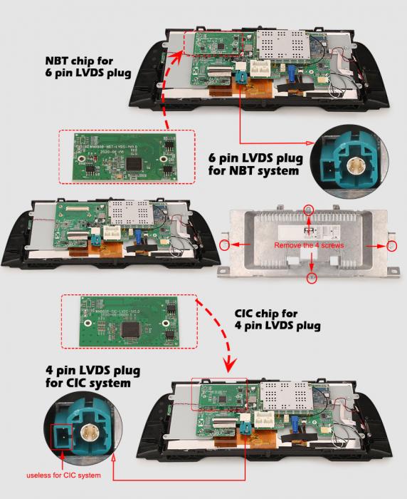 Navigatie auto, Pachet dedicat BMW F10/F11 CIC NBT ,10.25 Inch, Android 10.0, Octa Core [10]