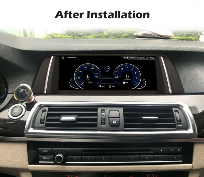 Navigatie auto, Pachet dedicat BMW F10/F11 CIC NBT ,10.25 Inch, Android 10.0, Octa Core [9]