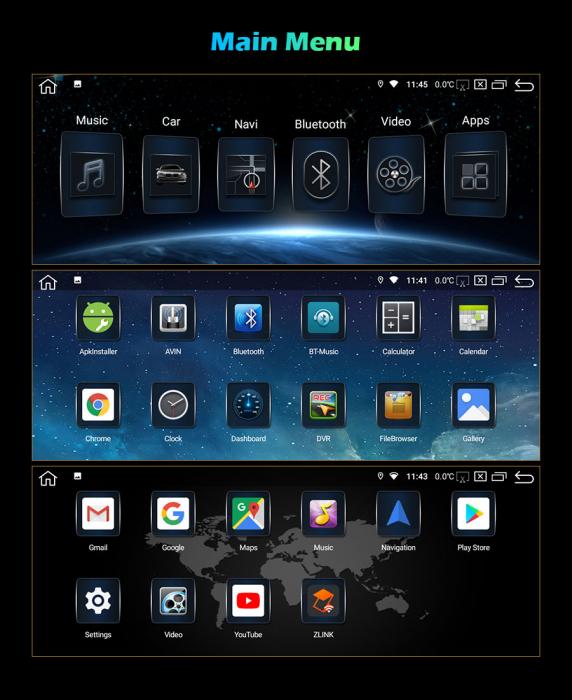 Navigatie auto, Pachet dedicat BMW 1er-F20/F21, 3er-F30/F31/F34, 4er-F32/F3 , 10.25 Inch, Android 10.0, Octa Core [11]