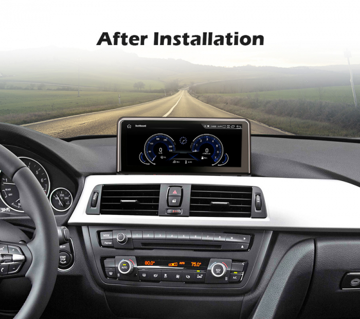 Navigatie auto, Pachet dedicat BMW 1er-F20/F21, 3er-F30/F31/F34, 4er-F32/F3 , 10.25 Inch, Android 10.0, Octa Core [10]