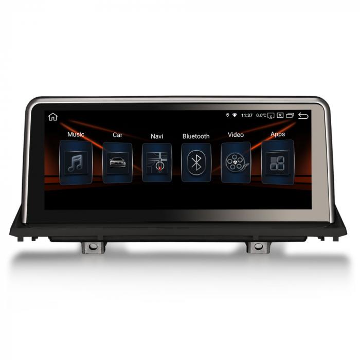 Navigatie auto, Pachet dedicat BMW X5 E70 CIC X6 E71 CCC, 10.25 Inch, Android 10.0, Octa Core [0]