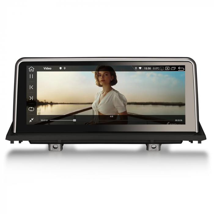 Navigatie auto, Pachet dedicat BMW X5 E70 CIC X6 E71 CCC, 10.25 Inch, Android 10.0, Octa Core [6]