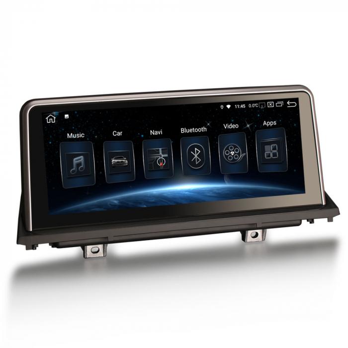 Navigatie auto, Pachet dedicat BMW X5 E70 CIC X6 E71 CCC, 10.25 Inch, Android 10.0, Octa Core [8]
