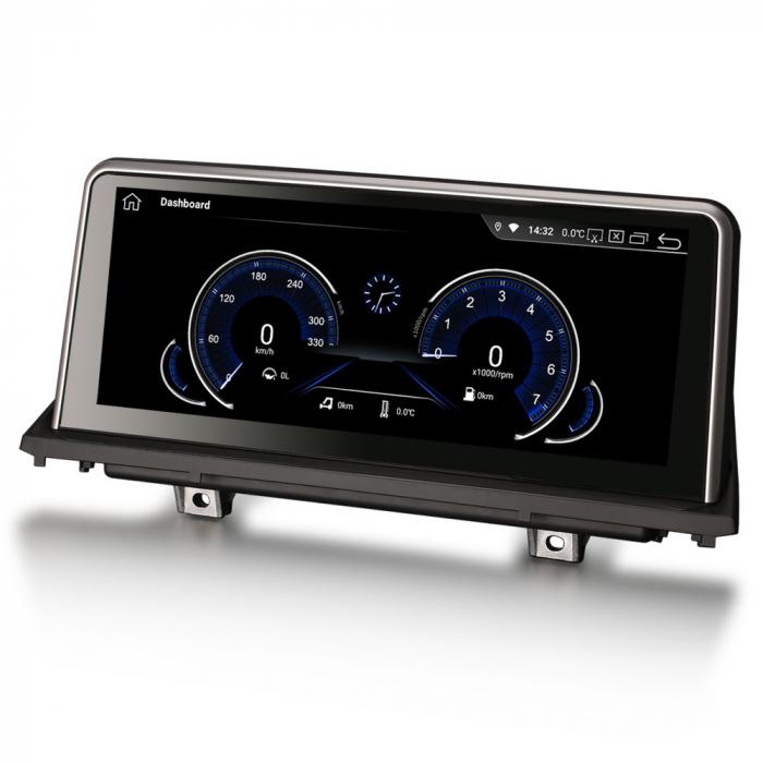 Navigatie auto, Pachet dedicat BMW X5 E70 CIC X6 E71 CCC, 10.25 Inch, Android 10.0, Octa Core [1]