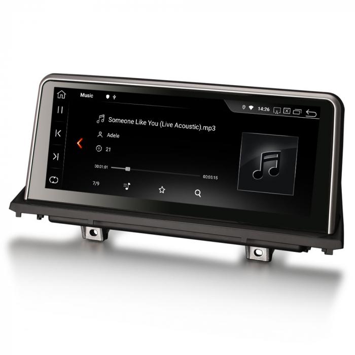 Navigatie auto, Pachet dedicat BMW X5 E70 CIC X6 E71 CCC, 10.25 Inch, Android 10.0, Octa Core [4]