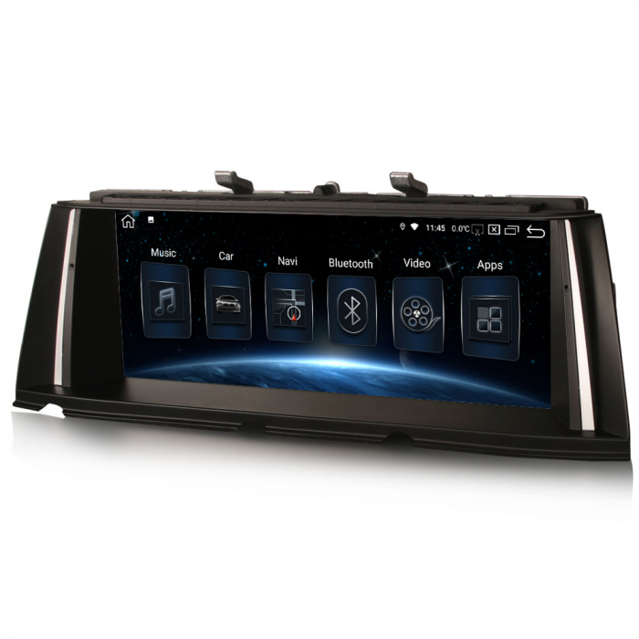 Navigatie auto, Pachet dedicat BMW Seria 7 F01/F02 CIC NBT, 10.25 Inch, Android 10.0, Octa Core [5]