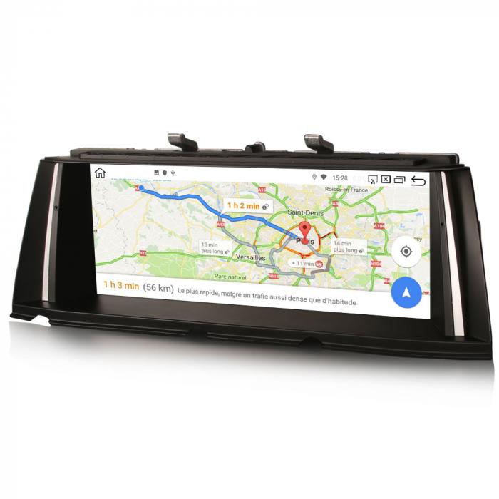 Navigatie auto, Pachet dedicat BMW Seria 7 F01/F02 CIC NBT, 10.25 Inch, Android 10.0, Octa Core [7]