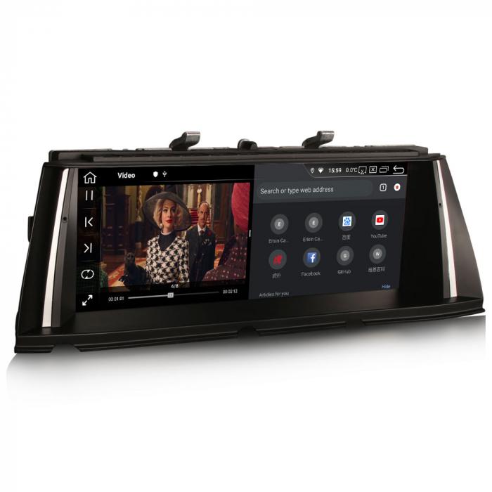 Navigatie auto, Pachet dedicat BMW Seria 7 F01/F02 CIC NBT, 10.25 Inch, Android 10.0, Octa Core [2]