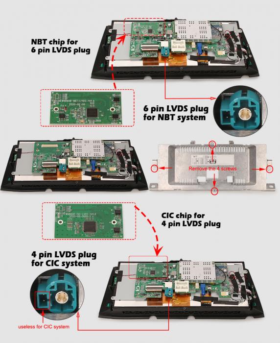 Navigatie auto, Pachet dedicat BMW Seria 7 F01/F02 CIC NBT, 10.25 Inch, Android 10.0, Octa Core [11]