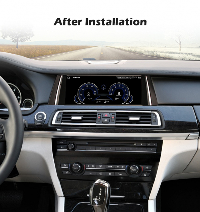 Navigatie auto, Pachet dedicat BMW Seria 7 F01/F02 CIC NBT, 10.25 Inch, Android 10.0, Octa Core [9]