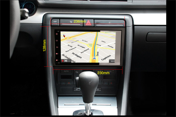 Navigatie auto, Pachet dedicat Audi A4 S4 RS4 Seat Exeo, 8 Inch, Android 10.0 [8]
