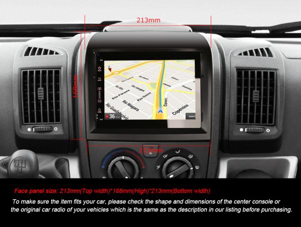 Navigatie auto, Pachet dedicat Fiat Ducato Citroen Jumper Peugeot Boxer , Android 10, Quad Core [11]
