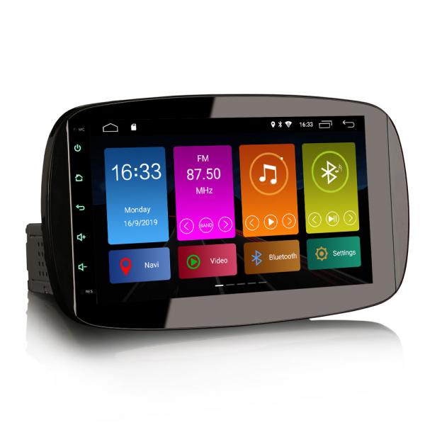Navigatie auto, Pachet dedicat Mercedes-Benz Smart, Android 10, 9 Inch [3]