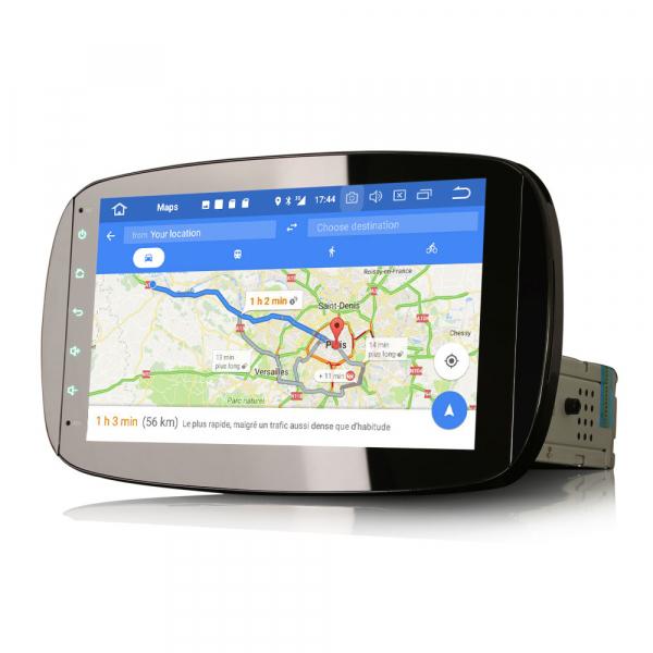 Navigatie auto, Pachet dedicat Mercedes-Benz Smart, Android 10, 9 Inch [6]