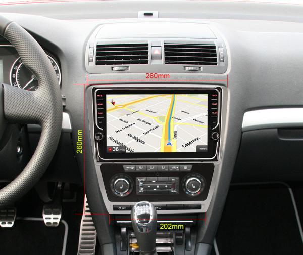 Navigatie auto, Pachet dedicat Skoda Octavia, 9 Inch, Android 10.0 [7]