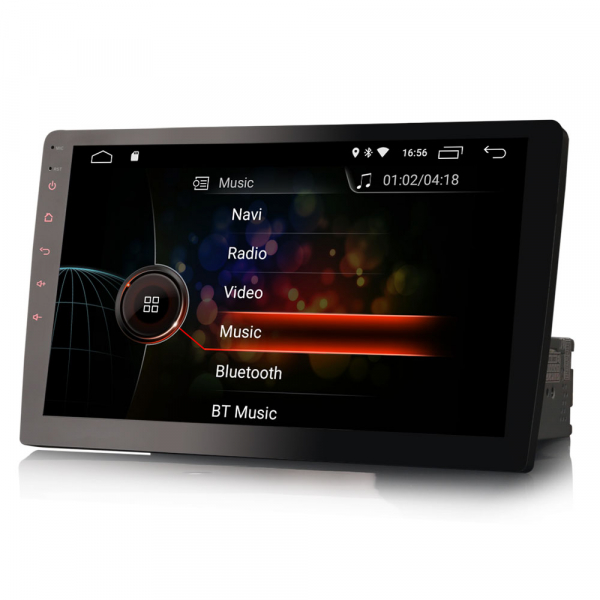 Navigatie auto universala 1DIN, articulatie rotativa, 10.1 inch, Android 10, GPS, WIFI, DAB+ 1