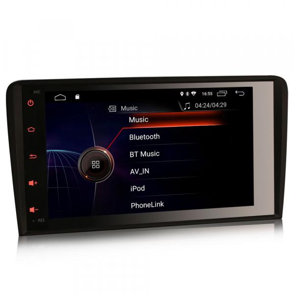 Navigatie auto, Pachet dedicat Audi A3, Android 10.0; 7 inch 2