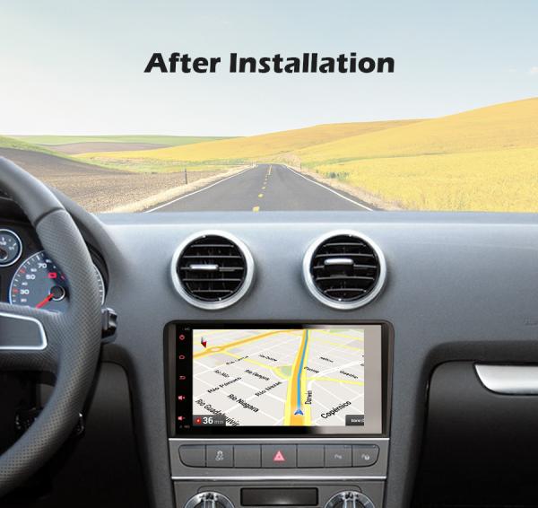 Navigatie auto, Pachet dedicat Audi A3, Android 10.0; 7 inch 6
