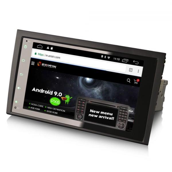 Navigatie auto, Pachet dedicat AUDI A4, 8 inch, Android 10.0 2