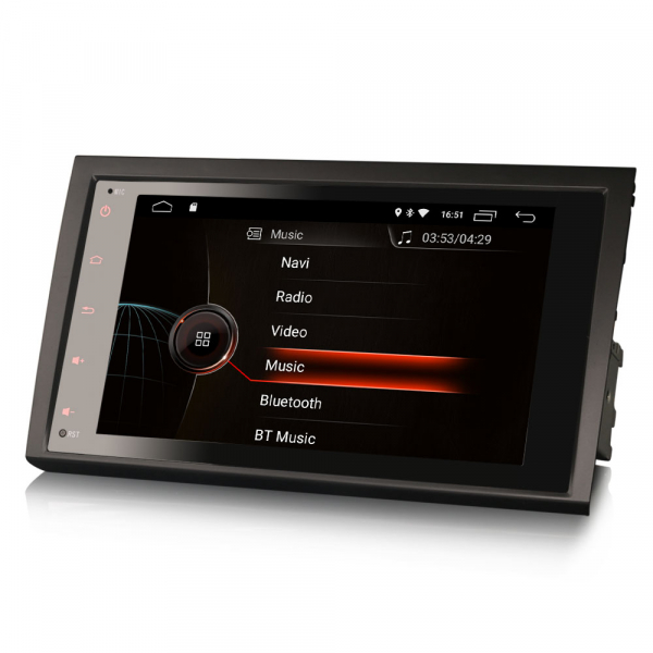 Navigatie auto, Pachet dedicat AUDI A4, 8 inch, Android 10.0 4