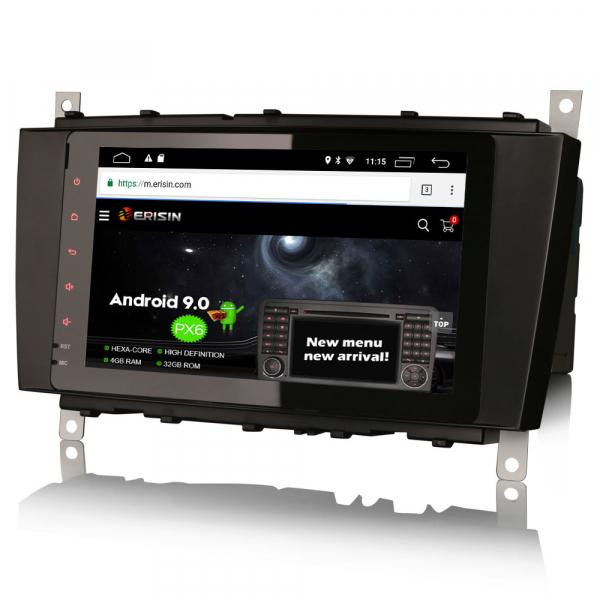 Navigatie auto, Pachet dedicat Mercedes BENZ, Android 10.0, 8 inch [1]