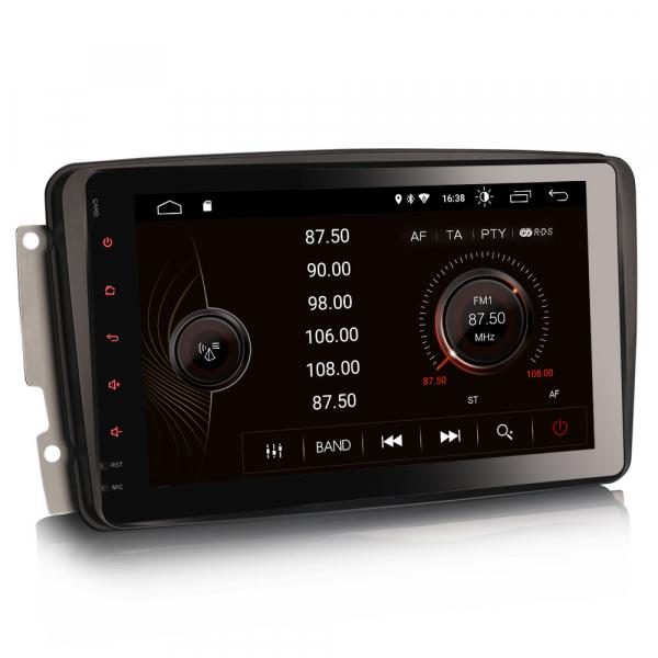 Navigatie auto, Pachet dedicat Mercedes BENZ, Android 10.0, 8 inch 4