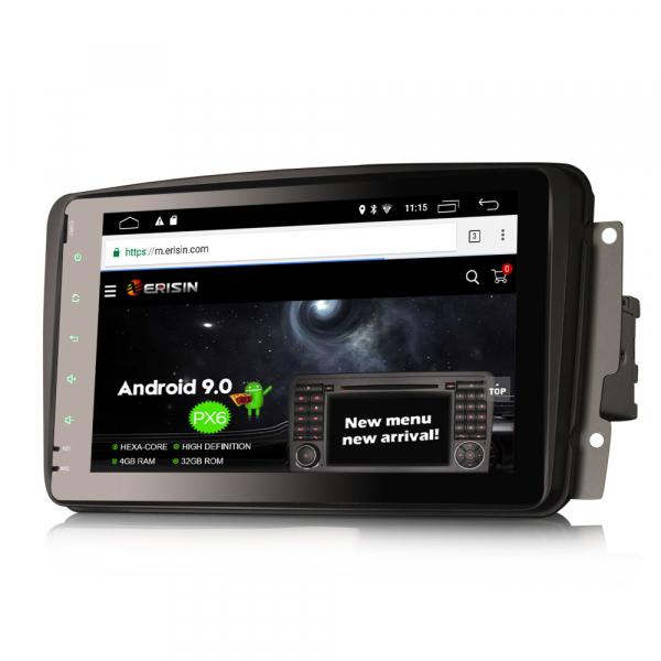 Navigatie auto, Pachet dedicat Mercedes BENZ, Android 10.0, 8 inch 2