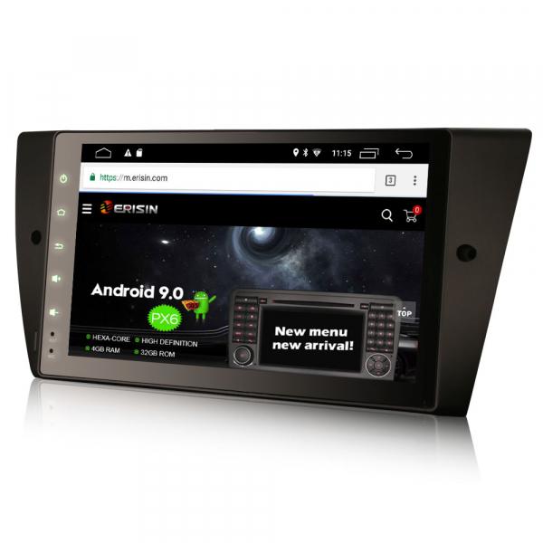Navigatie auto, Pachet dedicat BMW Seria 3 ,8 inch, Android 10 1