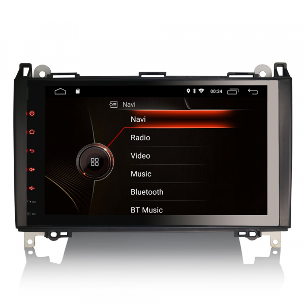 Navigatie auto, Pachet dedicat Mercedes BENZ, Android 10.0, 9 inch [0]