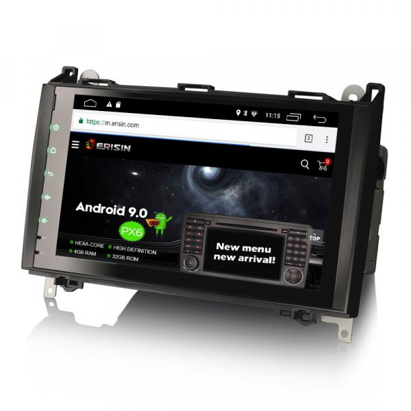 Navigatie auto, Pachet dedicat Mercedes BENZ, Android 10.0, 9 inch [2]