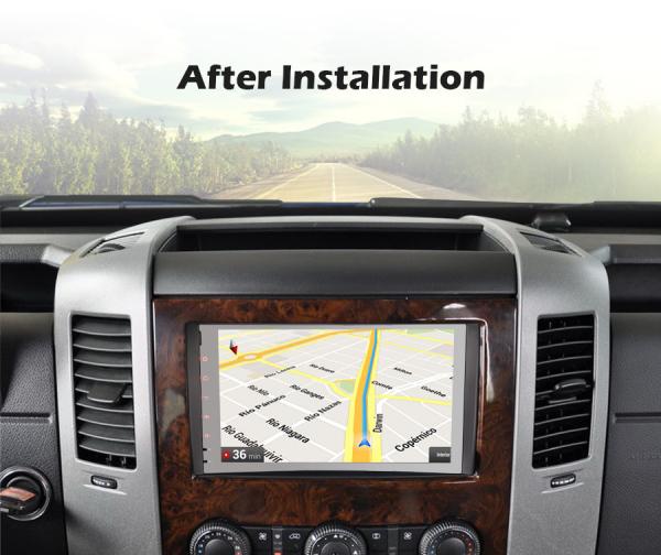 Navigatie auto, Pachet dedicat Mercedes BENZ, Android 10.0, 9 inch [8]