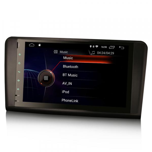 Navigatie auto, Pachet dedicat Mercedes BENZ ML/GL , Android 10.0, 9 inch 1