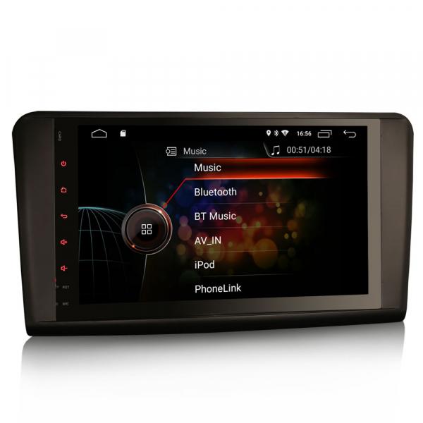 Navigatie auto, Pachet dedicat Mercedes BENZ ML/GL , Android 10.0, 9 inch 3