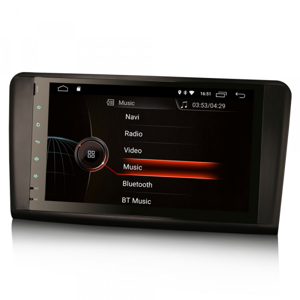 Navigatie auto, Pachet dedicat Mercedes BENZ ML/GL , Android 10.0, 9 inch 4