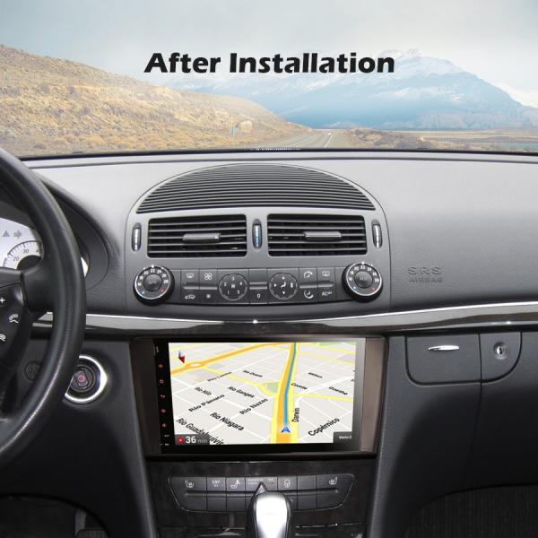 Navigatie auto, Pachet dedicat Mercedes BENZ ML/GL , Android 10.0, 9 inch 7