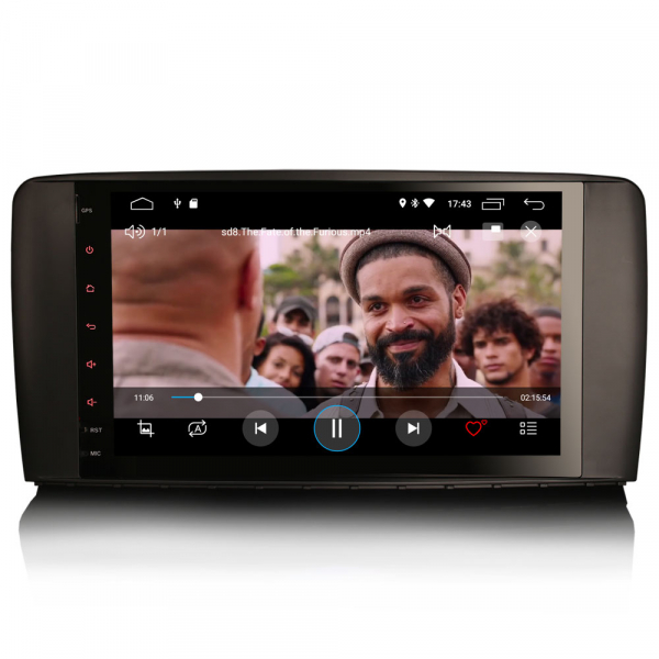 Navigatie auto, Pachet dedicat Mercedes BENZ R CLASS , Android 10.0, 9 inch 6