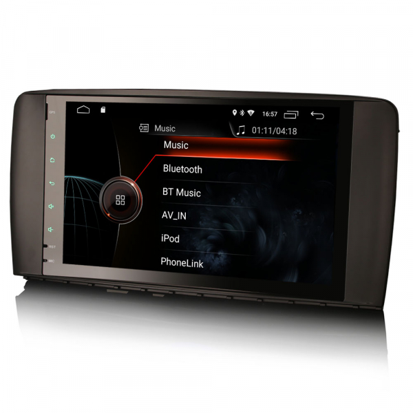 Navigatie auto, Pachet dedicat Mercedes BENZ R CLASS , Android 10.0, 9 inch 3