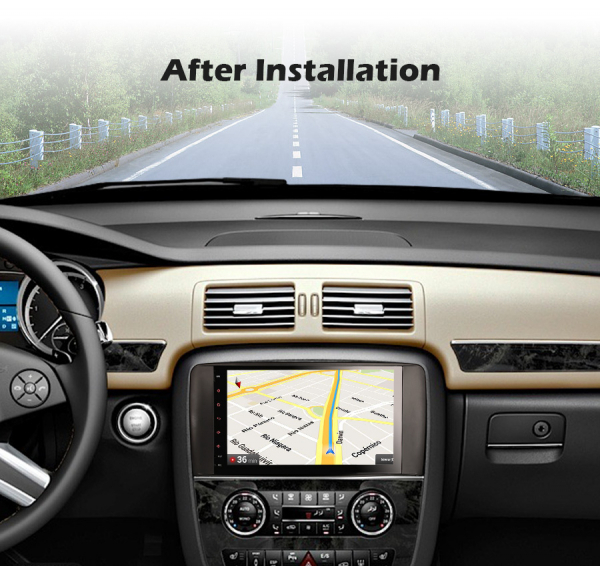 Navigatie auto, Pachet dedicat Mercedes BENZ R CLASS , Android 10.0, 9 inch 7