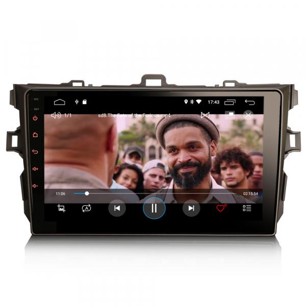 Navigatie auto, Pachet dedicat TOYOTA COROLLA, 9 inch, Android 10 6