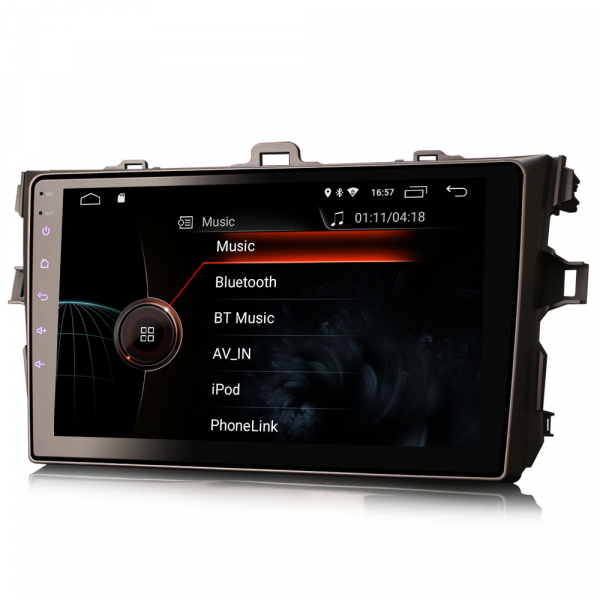 Navigatie auto, Pachet dedicat TOYOTA COROLLA, 9 inch, Android 10 2