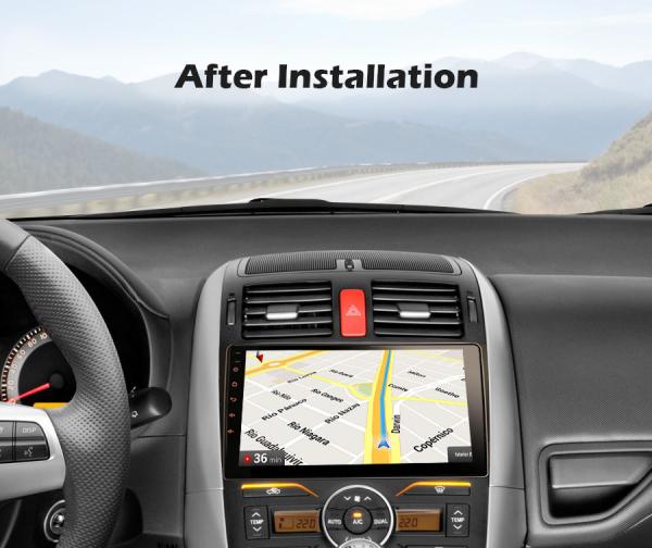 Navigatie auto, Pachet dedicat TOYOTA COROLLA, 9 inch, Android 10 7