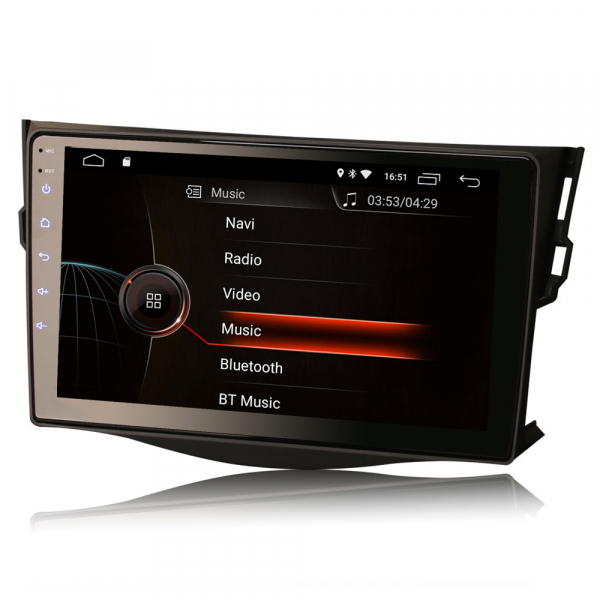 Navigatie auto, Pachet dedicat TOYOTA RAV4, 9 inch, Android 10 1