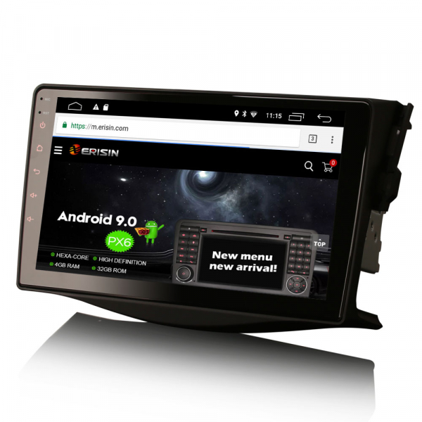 Navigatie auto, Pachet dedicat TOYOTA RAV4, 9 inch, Android 10 [2]