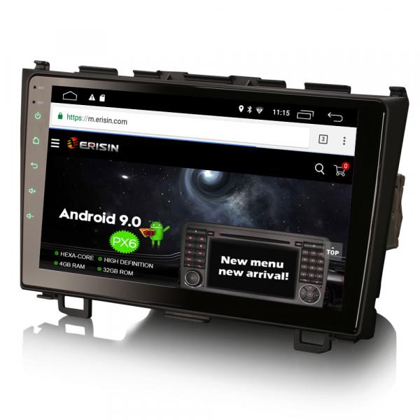 Navigatie auto, Pachet dedicat HONDA CR-V, 9 inch, Android 10 2